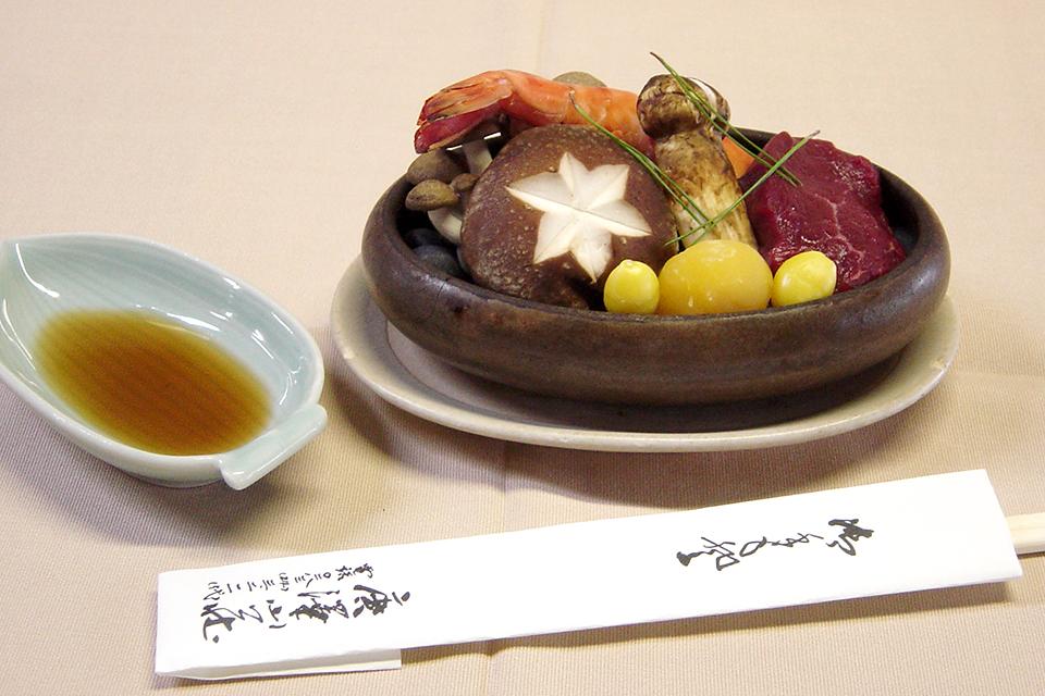 松茸ホーロク焼き